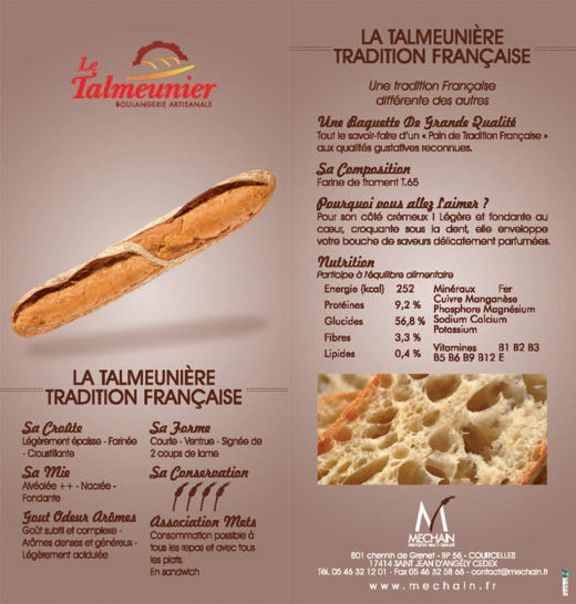 """Talmeunière """"Tradition française"""""""