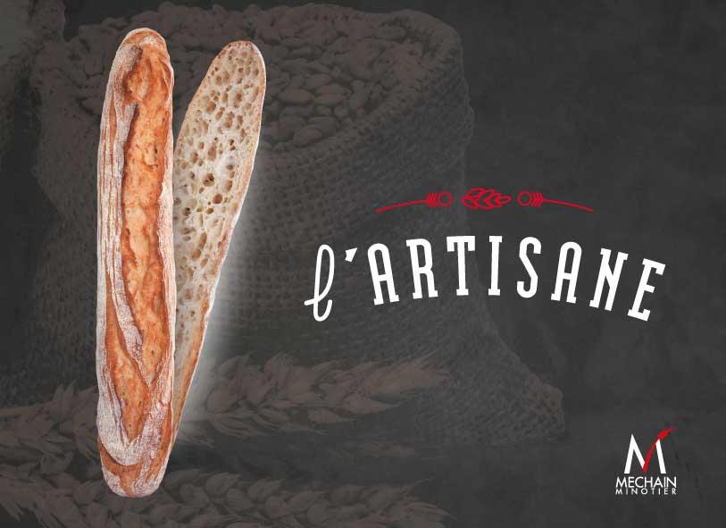L'Artisane, la nouvelle baguette du moulin